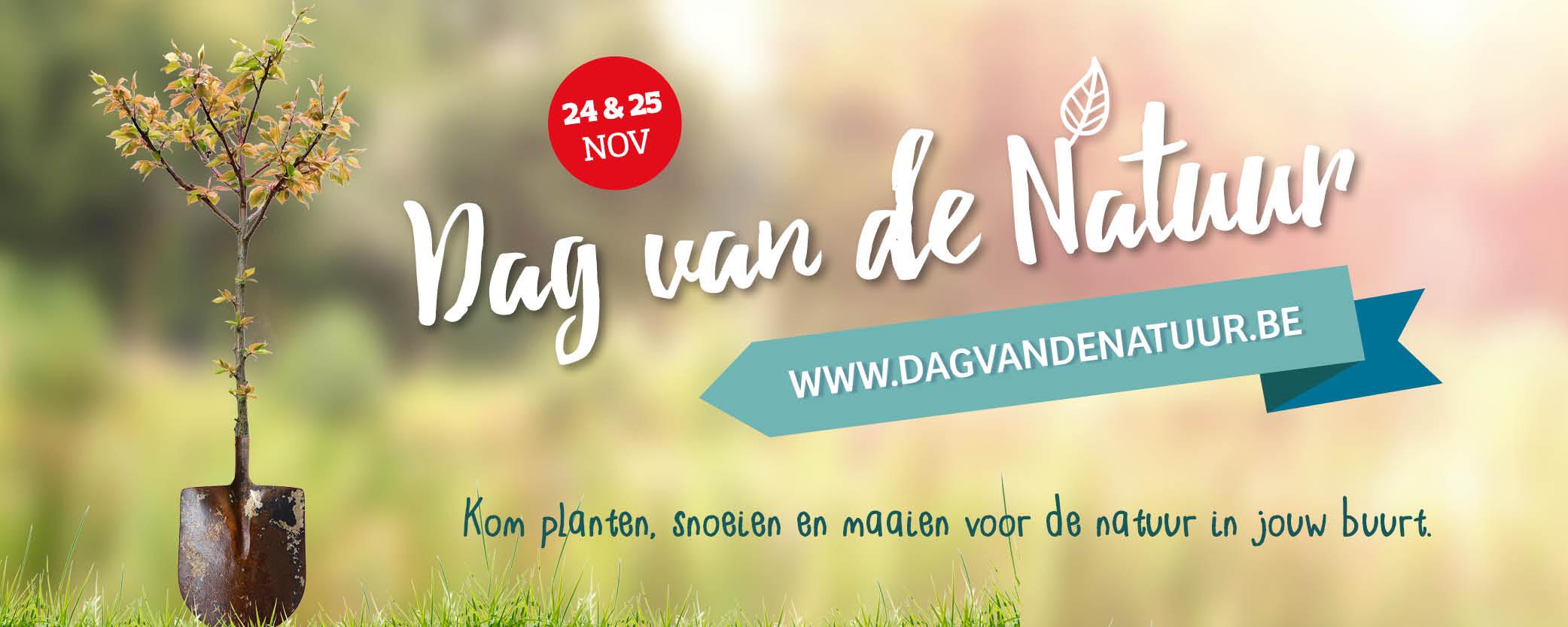 Banner Dag van de Natuur