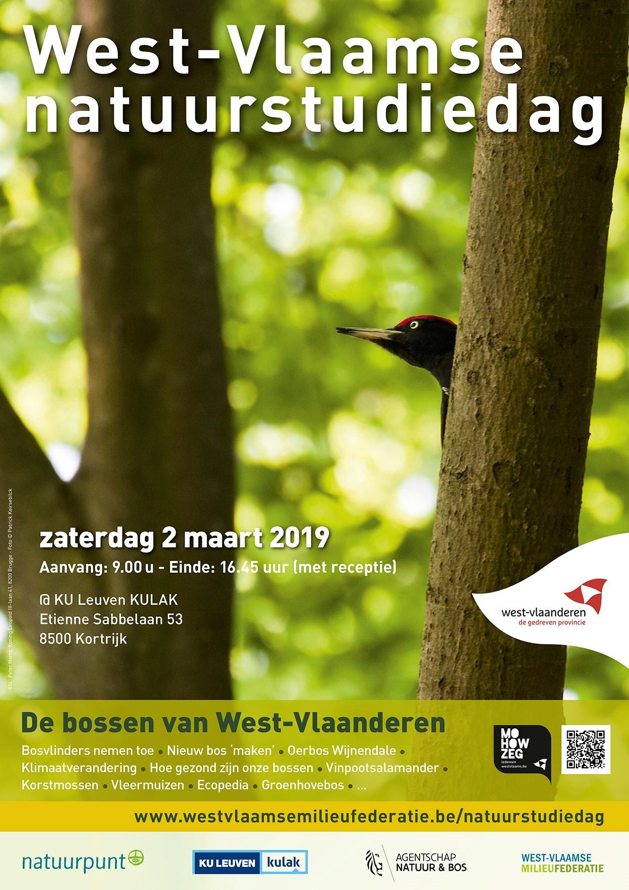affiche Natuurstudiedag 2019